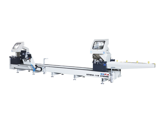 Máy cắt nhôm 2 đầu lưỡi 550 GEMINI -VR