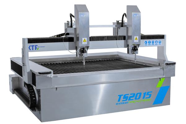 Máy cắt tia nước 2 đầu