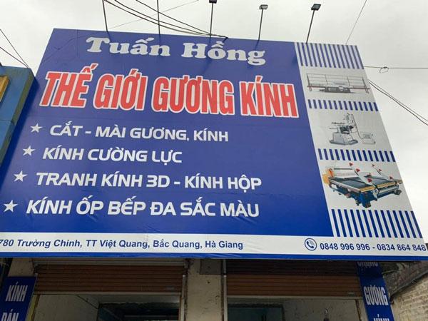 Lắp đặt, bàn giao dàn máy gia công kính tại Hà Giang